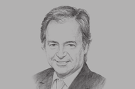 Sketch of <p>Hugo Swire, UK Member of Parliament</p>