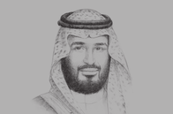 Sketch of <p> Deputy Crown Prince Mohammed bin Salman bin Abdulaziz Al Saud, Chairman, Council of Economic and Development Affairs</p>