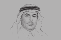 Sketch of <p>Prince Turki bin Saud bin Mohammed Al Saud, President, King Abdulaziz City for Science and Technology (KACST)&nbsp;</p>