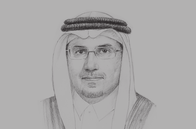 Sketch of <p>Ahmed Alkholifey, Governor, Saudi Arabian Monetary Agency (SAMA)</p>
