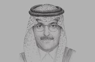 Sketch of <p>Mohammed Al Jadaan, Chairman, Capital Market Authority (CMA)</p>