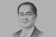 Sketch of <p>Lim Hng Kiang, Singapore Minister for Trade and Industry (Trade)</p>