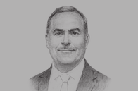 Sketch of <p>Thabet Elwir, Chief of Commission, Jordan Investment Commission (JIC)</p>