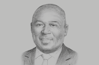 Sketch of <p>Abdul-Nashiru Issahaku, Governor, Bank of Ghana</p>