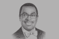 Sketch of <p>Akinwumi Adesina, President, African Development Bank (AfDB)</p>