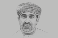 Sketch of <p>Khalifa Al Barwani, CEO, National Centre for Statistics and Information (NCSI)</p>