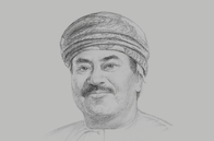 Sketch of <p>AbdulRazak Ali Issa, CEO, Bank Muscat</p>