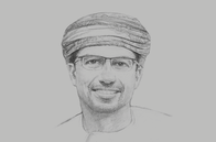 Sketch of <p>Abdulaziz Mohammed Al Balushi, Group CEO, OMINVEST</p>