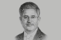Sketch of <p>Mahmood Al Kooheji, CEO, Mumtalakat</p>