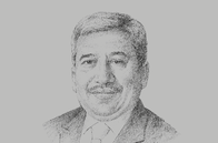 Sketch of <p>Pankaj Patel, President, Federation of Indian Chambers of Commerce & Industry</p>