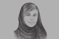 Sketch of <p>Sheikha Bodour bint Sultan Al Qasimi, Chairperson, Sharjah Investment and Development Authority (Shurooq)</p>