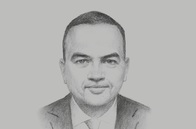 Sketch of <p>Mohamed Khodeir, Chairman, General Authority for Investment</p>