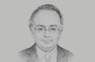 Sketch of <p>Sherif Samy, Chairman, Egyptian Financial Supervisory Authority (EFSA)</p>