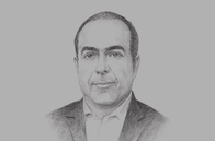 Sketch of <p> Gustavo Puente Orozco, Secretary of Economic Development, State of San Luis Potosí</p>