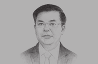 Sketch of <p>Dinh Tien Dung, Minister of Finance</p>