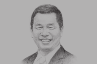 Sketch of <p>Truong Gia Binh, Chairman, FPT Corporation</p>