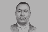 Sketch of <p>Moses Ikiara, Managing Director, Kenya Investment Authority</p>