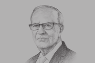 Sketch of <p>President Béji Caïd Essebsi</p>