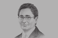 Sketch of <p>Mohamed Fadhel Abdelkefi, Minister of Development, Investment and International Cooperation</p>