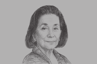Sketch of <p>Helen Y Dee, Chairperson, RCBC</p>