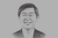 Sketch of <p>Shinichi Kitaoka, President, Japan International Cooperation Agency (JICA)</p>