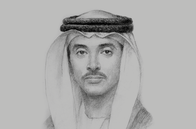 Sketch of <p>Sheikh Hazza bin Zayed Al Nahyan, Vice-Chairman, Abu Dhabi Executive Council</p>