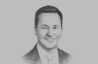 Sketch of <p>Steven Ciobo, MP and Minister for Trade, Tourism and Investment of Australia</p>