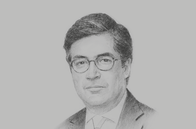 Sketch of <p>Luis Alberto Moreno, President, Inter-American Development Bank (IDB)</p>
