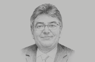 Sketch of <p>Mauricio Cárdenas, Minister of Finance and Public Credit</p>
