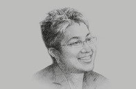 Sketch of <p>Marla Dukharan, Group Economist, Royal Bank of Canada (Caribbean)</p>