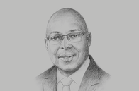Sketch of <p>Kelvin Charles, Chief Secretary, Tobago House of Assembly (THA)</p>