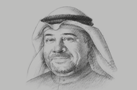 Sketch of <p>Khaled Mahdi, Secretary-General, Supreme Council for Planning and Development</p>