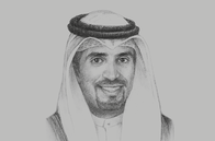 Sketch of <p>Sheikh Meshaal Jaber Al Ahmad Al Sabah, Director-General, Kuwait Direct Investment Promotion Authority (KDIPA)</p>