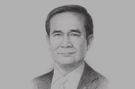 Sketch of <p> Prime Minister Prayut Chan-o-cha</p>