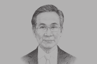 Sketch of <p>Don Pramudwinai, Minister of Foreign Affairs</p>