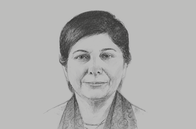 Sketch of <p>Shamshad Akhtar, Executive Secretary, UN Economic and Social Commission for Asia and the Pacific (ESCAP)</p>