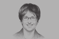 Sketch of <p>Brigitte Zypries, Minister for Economic Affairs and Energy of Germany</p>