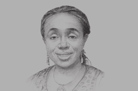 Sketch of <p>Kemi Adeosun, Minister of Finance</p>