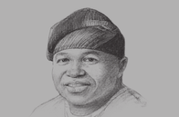 Sketch of <p>Akinwunmi Ambode, Governor of Lagos State</p>
