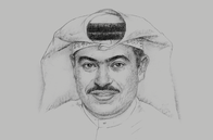 Sketch of <p>Ali Ahmed Al Kuwari, Group CEO, Qatar National Bank (QNB)</p>