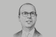 Sketch of <p>Angelino Alfano, Minister of Foreign Affairs of Italy</p>