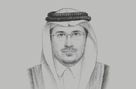 Sketch of <p>Ahmed Alkholifey, Governor, Saudi Arabian Monetary Authority (SAMA)</p>