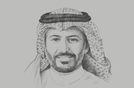 Sketch of <p>Mohammed El Kuwaiz, Chairman, Capital Market Authority (CMA)</p>