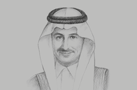Sketch of <p>Ahmed Al Khateeb, Chairman, Saudi Arabian Military Industries (SAMI); and Advisor to the Minister of Defence</p>