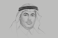 Sketch of <p>Prince Turki bin Saud bin Mohammed Al Saud, President, King Abdulaziz City for Science and Technology (KACST)</p>