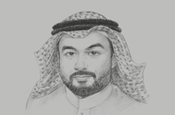 Sketch of <p>Abdullah Alswaha, Minister of Communication and Information Technology (MCIT)</p>