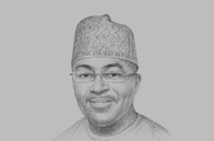 Sketch of <p>Vice-President Mahamudu Bawumia, Chairman, Economic Management Team</p>