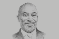 Sketch of <p>R Yofi Grant, CEO, Ghana Investment Promotion Centre (GIPC)</p>