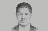 Sketch of <p>Marcel de Souza, President, ECOWAS Commission</p>