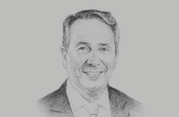 Sketch of <p>Liam Fox, UK Secretary of State for International Trade</p>
